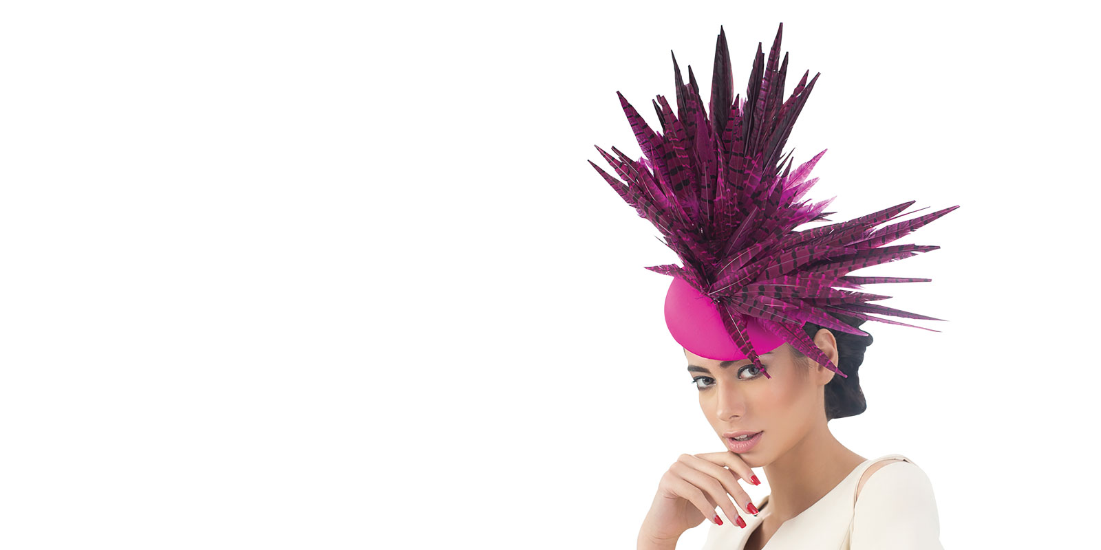 cerise hats 2018 races wedding